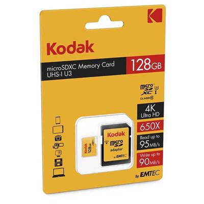 کارت حافظه Kodak micro SDHC-SDXC Class 10 UHS-1 U3