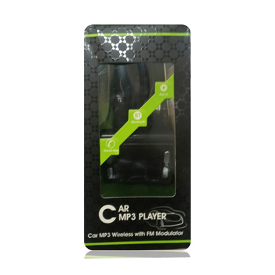 car mp3 wireless with FM modulator